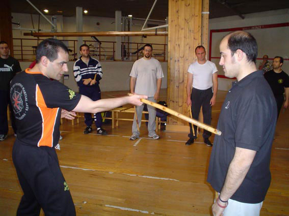 Primer curso Instructor Warriors